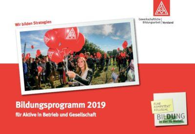 Bildungsprogramm 2019