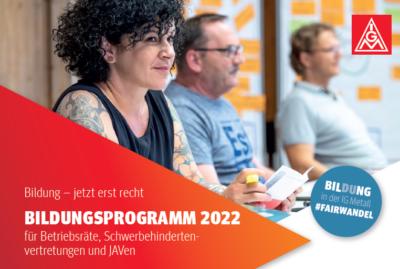 Bildungsprogramm 2022